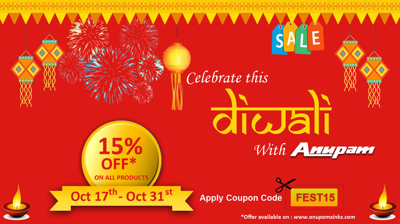 Diwali Offer - Anupam Sinks