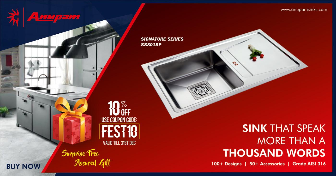 Diwali Offer - Anupam Sinks