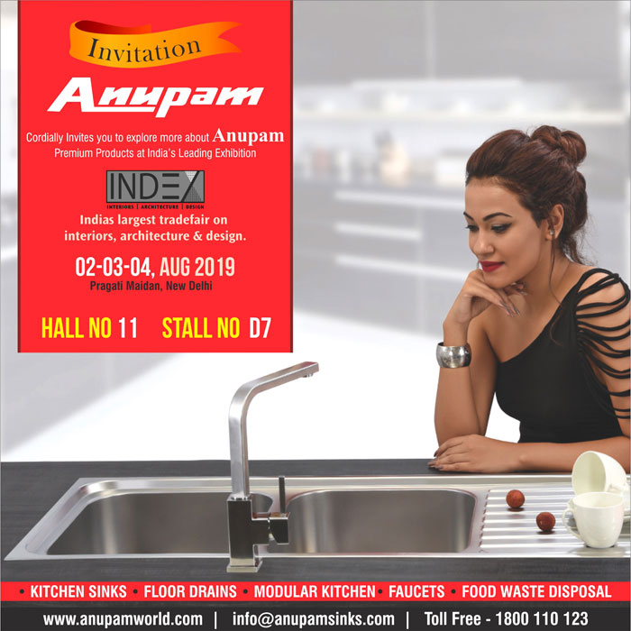 Anupam India S Best Stainless Steel Kitchen Sink Company