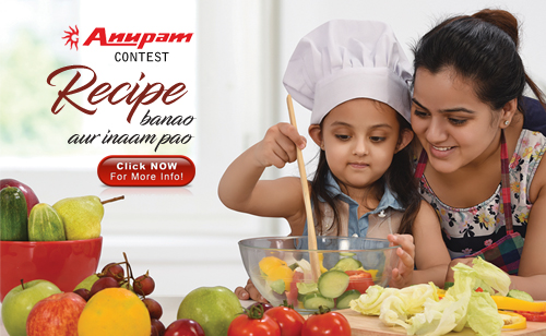 Recipe Contest - Anupam Sinks