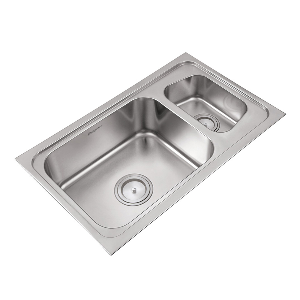 Double bowl sinks finest high quality kitchen sinks for High quality kitchen sinks